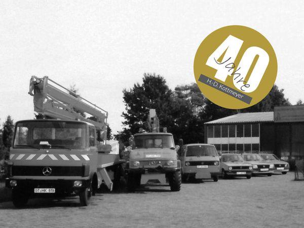 40 Jahre H.-D. Kottmeyer in Harsewinkel: HAPPY BIRTHDAY!