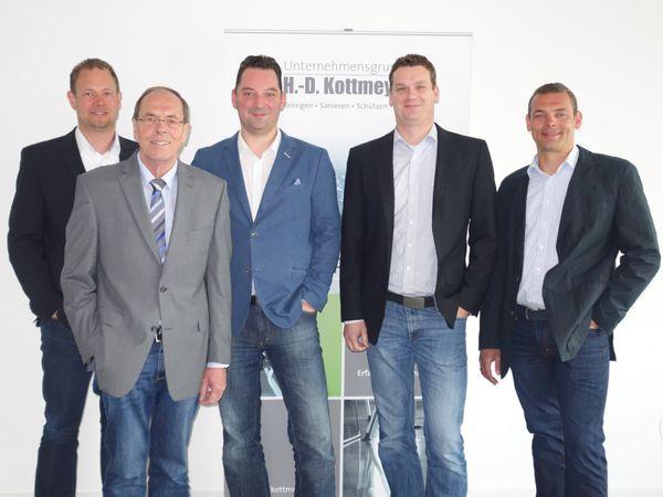 Verstärkung für die Geschäftsführung - zwei neue Prokuristen bei Kottmeyer