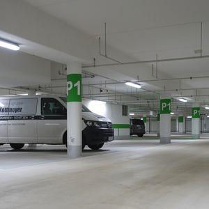 Unterhaltsreinigung Parkhausreinigung