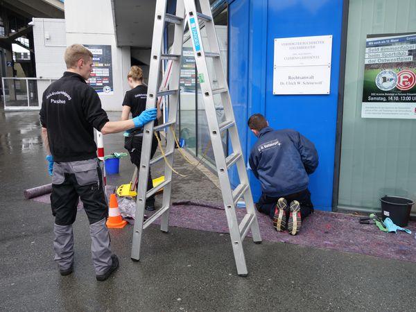 Landesleistungswettbewerb des Gebäudereiniger-Handwerks 2017